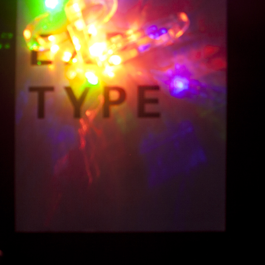 Hester/Experimental Typography/Laser Letterforms