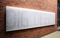 Hester/Typographic Installation/Dig Deep