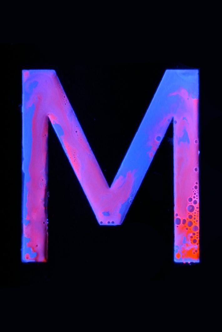 M Experimental Typography