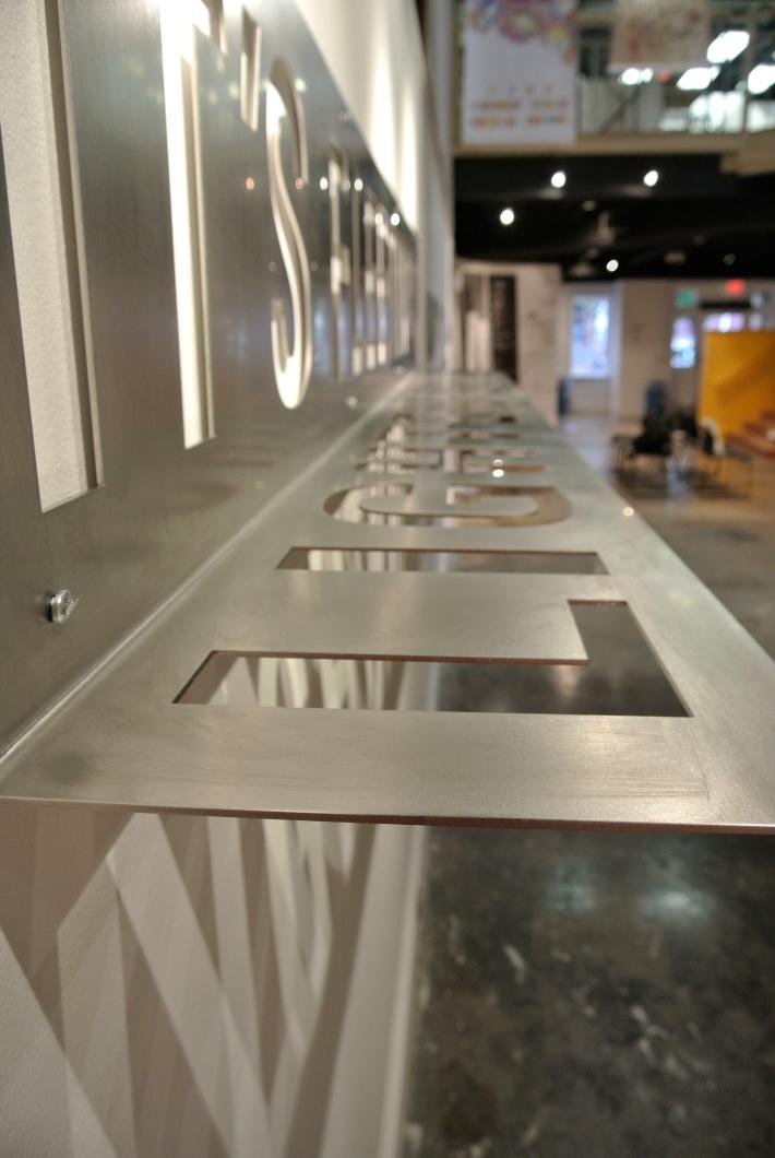 Hester/It's Fleeting/Lighten Up Typographic Installation