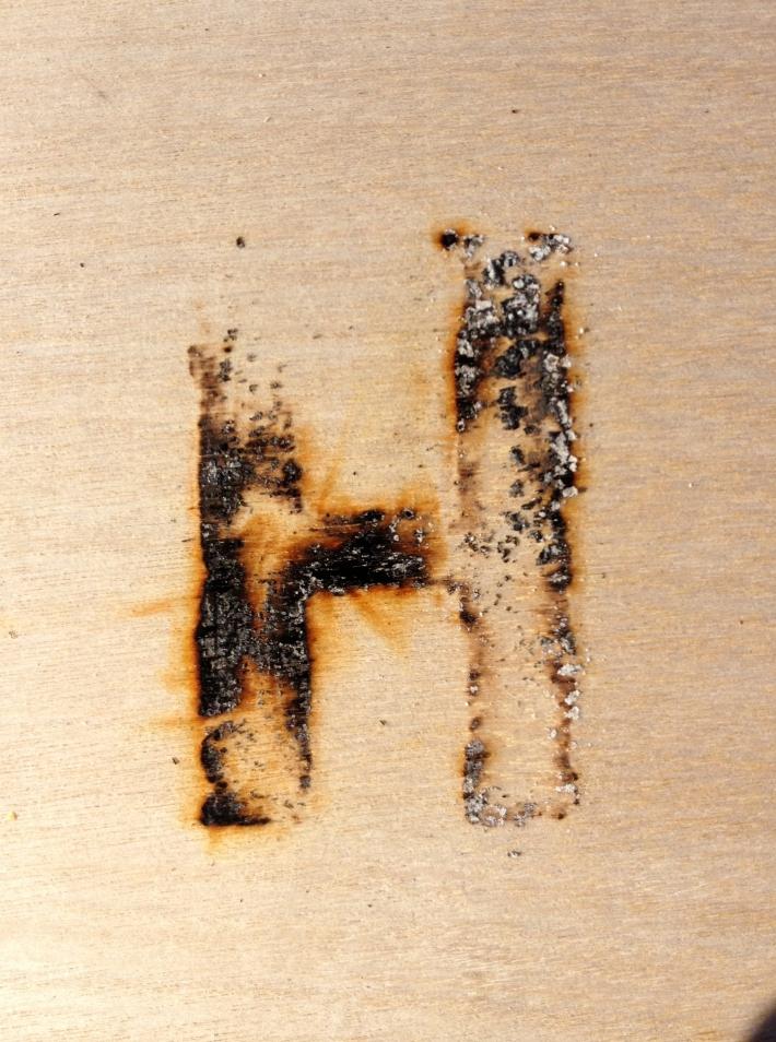 Hester/Custom Iron Brand/Experimental Typography