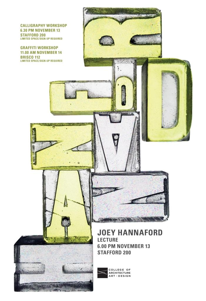 Hannaford Poster © 2014 Cassie Hester